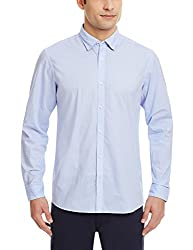 Blackberrys Mens Casual Shirt (8907196549455_MSPTX93LBBN05BTQ_42_Light Blue)