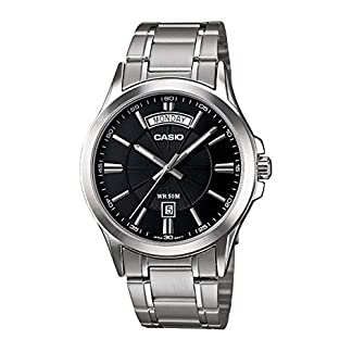 Casio Enticer Analog Silver Dial Men's Watch – MTP-1381D-1AVDF (A840)