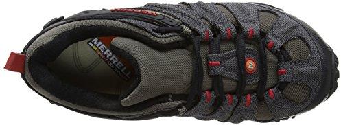 Merrell Chameleon Wrap Slam, Scarpe da Trekking Low Rise Uomo Grigio (Charcoal/boulder)