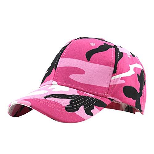 FRAUIT Damen/Herren Baseball Cap Outdoor Camouflage Baseballmütze für Baseballmützen Unisex Mütze, Kappe für Herren und Damen, Einfarbige Basecap, rundum geschlossen (Camouflage Cowboy Mütze)