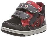 Geox B New Flick Boy C, Zapatillas para Bebés, (Dk Grey/Red C0047),...