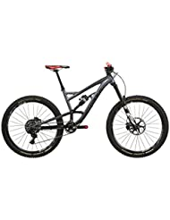 "VOTEC VE Pro - Enduro Fully 27,5"" - dark grey matt/black matt Tamaño del cuadro XL / 51 cm 2017 MTB doble suspensión"