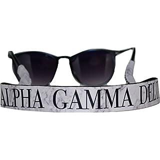 Alpha Gamma Delta - Sunglass Strap - Marble Theme