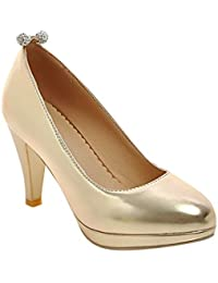 edf429a2ea2d63 Suchergebnis auf Amazon.de für  silber high heels - Trichterabsatz ...