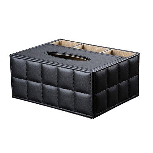 Wunderbar Desktop Organizer PU Leather Desk Storage Box Multifunctional Car Home  Office Supplies Accessories Holder