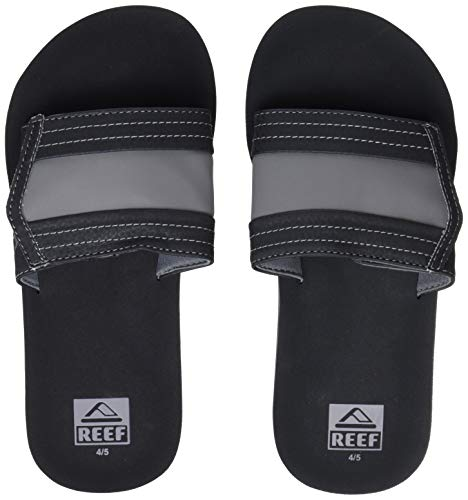 Reef Jungen Kids Ahi Slide Zehentrenner, Schwarz (Black Bla), 37/38 EU - Reef Jungen Sandalen