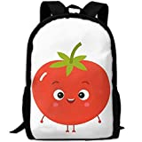 HOJJP HandtascheMost Durable Lightweight New Style Travel Hiking Backpack Daypack - Cute Tomato Cartoon