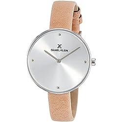 Daniel Klein Analog Silver Dial Women's Watch-DK11382-8