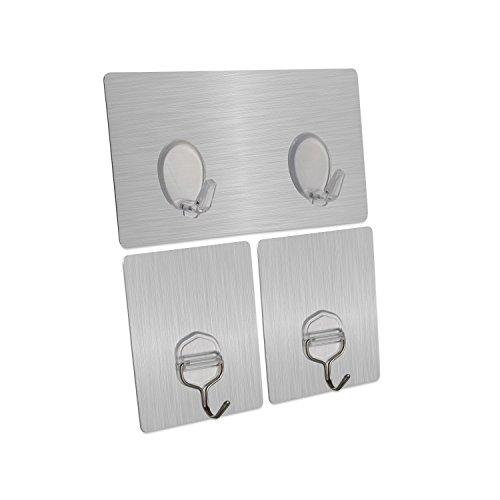 adhesive-hooks-eseoe-the-newest-reusable-and-waterproof-wall-hooks-132lb-6kgmaxheavy-duty-damage-fre