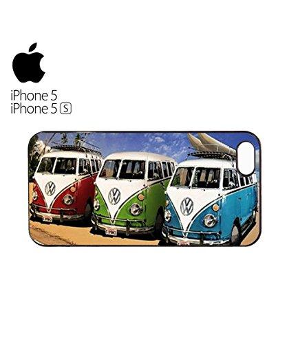 Peace Van Retro Vintage Cool Mobile Phone Case Cover iPhone 6 Plus + White Blanc