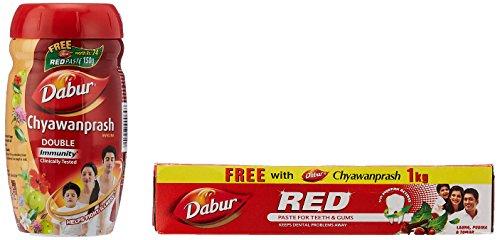 Dabur Chyawanprash - 1 kg with Free Dabur Red Tooth...