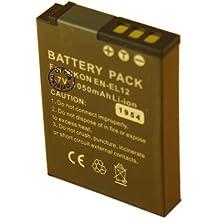 Otech Batterie Compatible Nikon COOLPIX S1200PJ