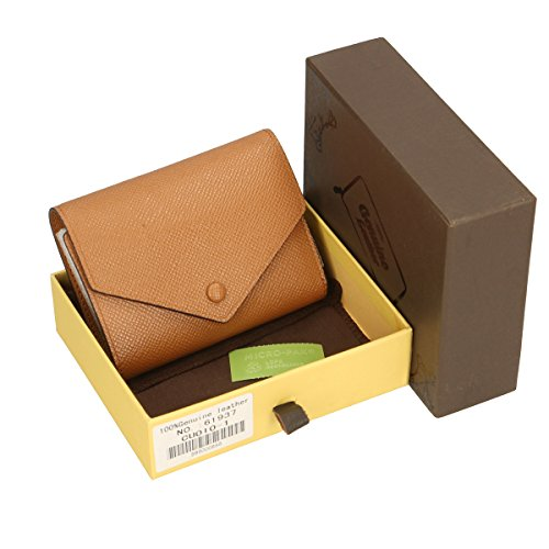 Chicca Borse Portafogli in pelle 12x9x3 100% Genuine Leather Cuoio