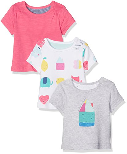 Mothercare Happy Home T-Shirts - 3 Pack