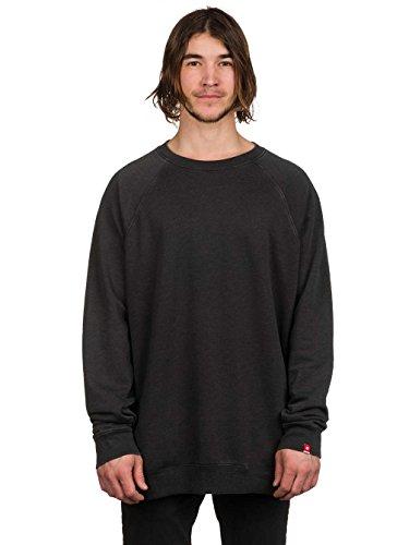 Herren Sweater DC Core Crew Sweater Pirate Black