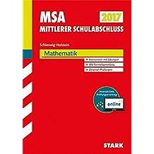 Mittlerer Schulabschluss Schleswig-Holstein - Mathematik, inkl. Online-Prüfungstraining