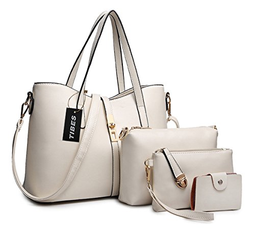Tibes PU cuir sac à main + épaule de sac de femmes de la...