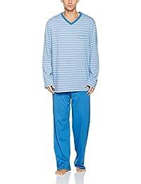 Schiesser Essentials Anzug Lang, Pyjamas Deux-Pièces Homme