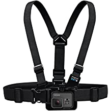 GoPro Chest Mount Harness - Arnés de pecho para cámara GoPro, color negro