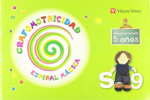 Grafomotricidad. Espiral. 5 Años (Espiral Magica Material Alumno) - 9788431698690