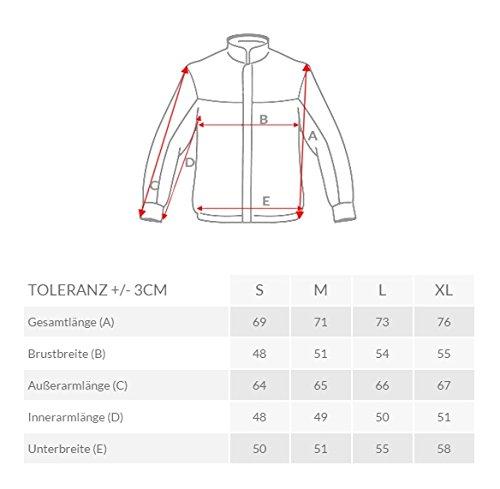 ozonee Felpa uomo felpa con cappuccio sweat maglione sportivi Pullover stile j. 2040 GRIGIO_js-y36