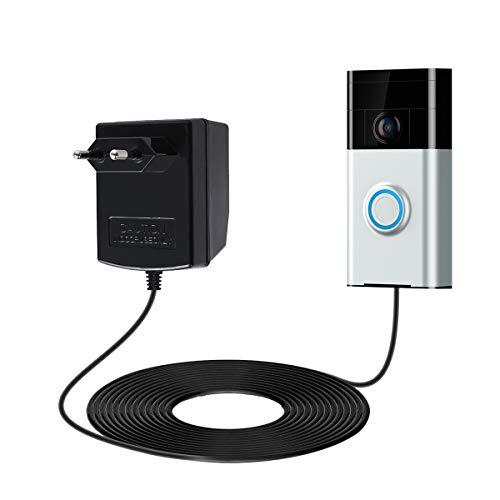 Ring 1080p HD Video mit 160° Weitwinkel und Nachtsicht-Modus
