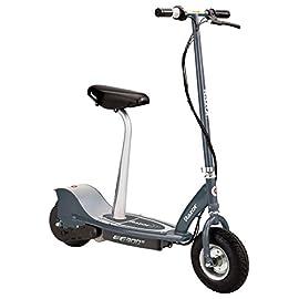 Razor E300S Scooter elettrico grigio per adolescenti e adulti