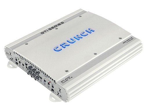 Crunch gti4100Car Wired White Audio Amplifier-Audio-Verstärker (200W, A/B, 0-12DB, 100W, 60W, 200W) (200 Watt Car-audio-verstärker)