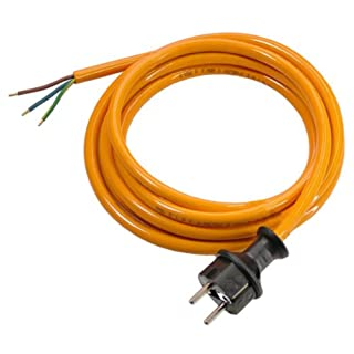 as - Schwabe 70919 Pur-Anschlussleitung, 5m H07BQ-F 3G1,0, orange, IP44 Gewerbe, Baustelle