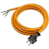 as - Schwabe 70908 Pur-Anschlussleitung, 5m H07BQ-F 3G1,5, orange, IP44 Gewerbe, Baustelle