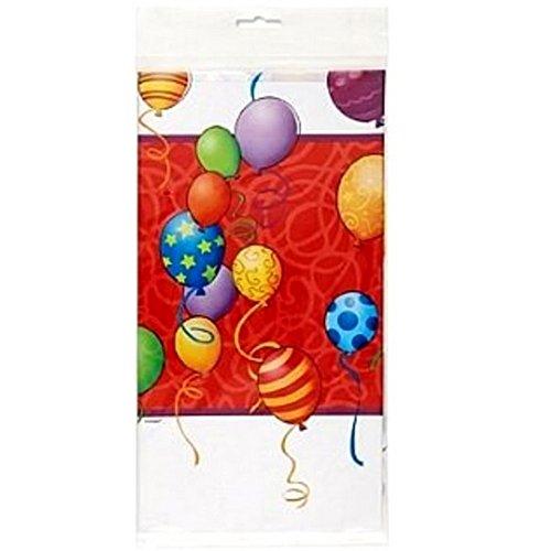 Unique Party - Tovaglia di plastica festa di compleanno (Taglia unica) (Multicolore)