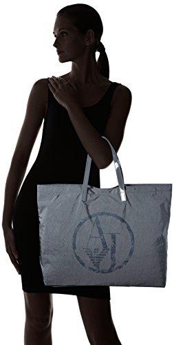 Armani - 922552CC861, Borsa shopper Donna Grigio (Grau (GRIGIO 00143))