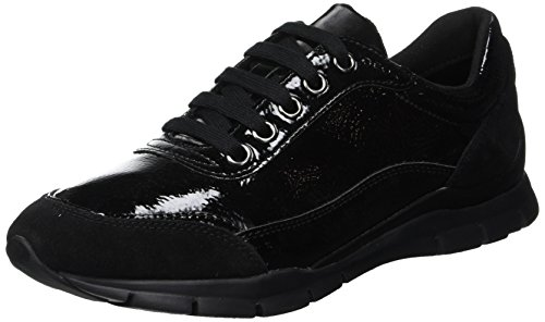 Geox D Sukie B, Zapatillas Mujer, Black