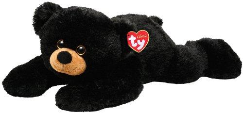 Imagen principal de Ty 7150063 Paws - Oso de peluche, 33 cm, color negro