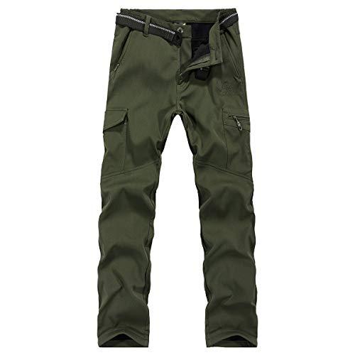 2a50e35a536 Ynport Crefreak Pantalón elástico con Forro Polar para Hombres Pantalones  de Soldador.