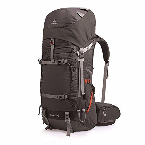 Zainetto spalle grandi sacchi di arrampicata ,70 , grigio (88 Camo)