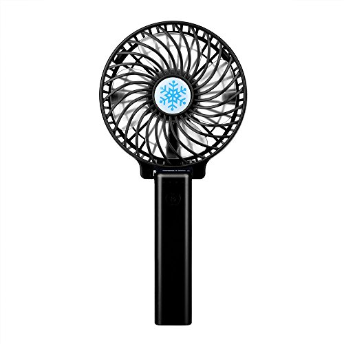 41VUT4 OeVL. SS500  - Hot Mini Portable USB Rechargeable High Power 3-Speed Desktop Fan Air Conditioner Durable,Mini Carrying Air Cooler Rechargeable Battery Snowman Air Conditioning Fan USB Pocket Fan for Home Office
