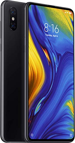 Xiaomi Mi Mix 3 6GB RAM and 128GB Storage 6.39-Inch Android 9 UK Version SIM-Free Smartphone - Black (Official UK Launch)