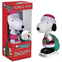 PEANUTS : SNOOPY:Christmas bobble head