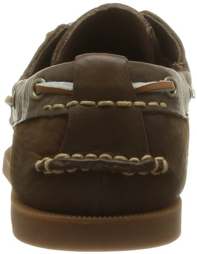 Timberland Ekhert2Eye Scarpe da barca, Uomo Marrone (Dark Brown)