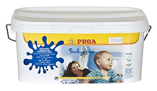Pintura plástica interior ecológica Proa Babyproa