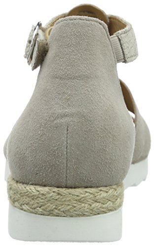 Gabor Damen Comfort T-Spange Beige (44 puder (Jute))