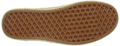 Vans Authentic Espadrille, Baskets Basses Mixte Adulte Gris (Canvas/Micro Chip)