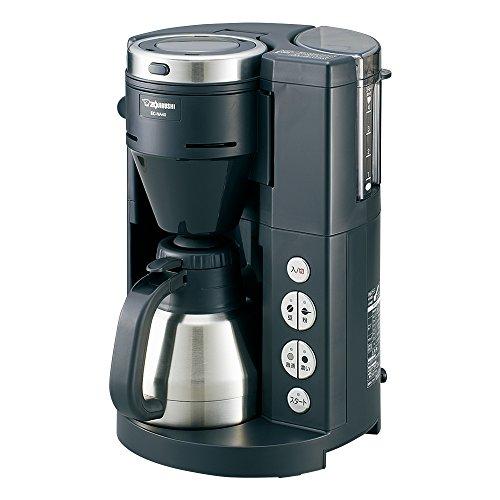 Zojirushi Kaffeevollautomat Edelstahl Thermos-Server, 1-4 Tassen für EC-NA40-BA Thermo Server