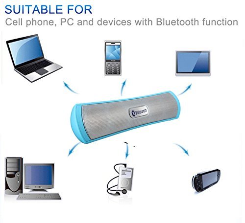 GREAT INDIAN SALE!! New mini Sound bar Bluetooth Boom Box woofer with inbuilt TF SD Card, USB, FM Radio, AUX IN, Mic - Compatible for OnePlus Lenovo Samsung Apple Iphone Xiaomi Redmi Mi Motorola Asus Honor Intex Oppo Cool pad Gionee HTC Vivo Micromax data wind LeEco Lava LYF Spice Blackberry Infocus Android Mobiles/ Tablets, Laptops & Gaming Consoles-EZ230 BLUE  available at amazon for Rs.999