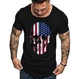 Sweat-Shirt Homme Imprime Smile Face Happiness Pull Casual Gilet À Capuche Tops Sweatshirt Col Haut Manches Longues Mode Pas Cher (Noir 1, M)