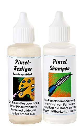 ZAHN Pinsel-Shampoo und Festiger, je 50 ml