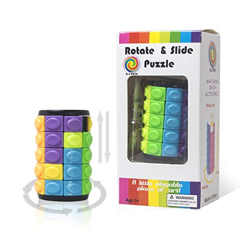 R.Y.TOYS Puzzle-Puzzle-Puzzle-Würfel-Puzzle-Puzzle für Erwachsene Magic Cube-Gehirn-Spiele für clevere Kinder Gehirn-Puzzles für 8-jährige 3D-Puzzles für 4-jährige Puzzles für Kinder 3500B (Spiele Kinder Gehirn)