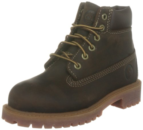 Timberland AUTHENTIC 6Rust, Boots Jungen, braun - Marron (Brown Smooth) - Größe: 24 - Boots Jungen 6 Timberland Größe