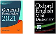 General Knowledge 2021+Oxford English Mini Dictionary - Indian Edition(Set of 2 books)